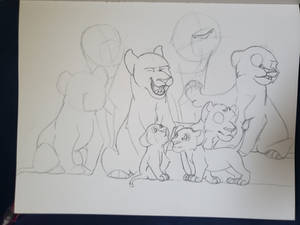 family portrait draft