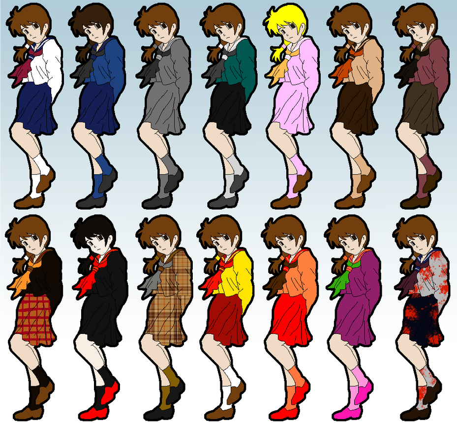 Ayumi colors by AlanBates