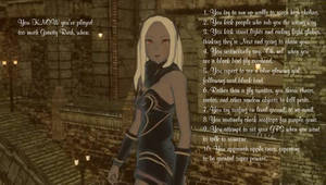 You know you've played too much Gravity Rush, when