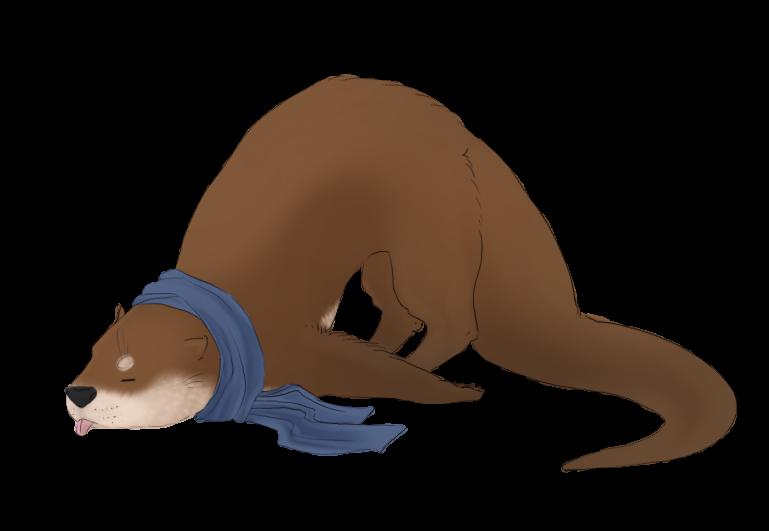 Bored Otterlock by catsmaycry