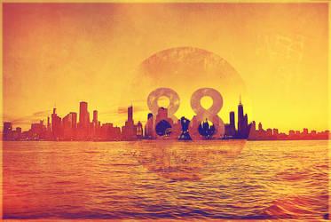 Chicago Skyline by adrijusg