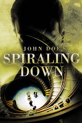 Spiraling Down - Premade Book Cover by adrijusg