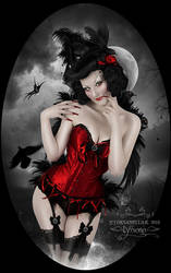 Alfeya-Ravenwing by Lyssiana