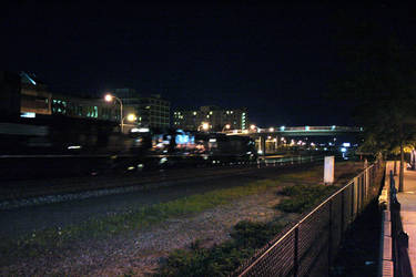 Trains that Pass In The Night by LimitedClear