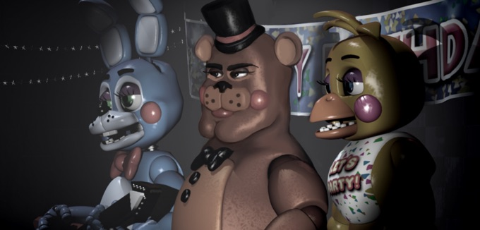 PAULINE: Five nights at freddys sexy