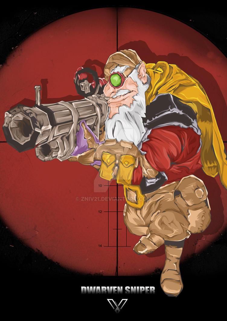 Dwarven Sniper by zniv21