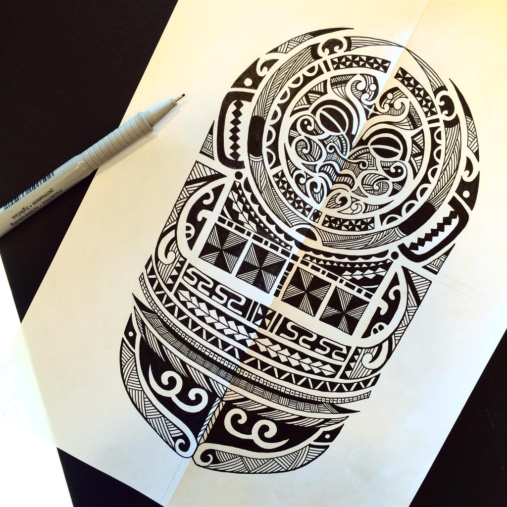 Maori Tattoo Design Wallpaper Wp300369: Maori Tattoo Design By Rabbittc On DeviantArt