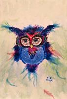 Paradise Owl by wapitititi
