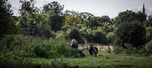 Cyclist's rest by NiallAllen