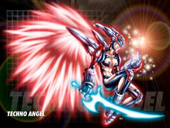 Bigger Technoangel by gaudiamo