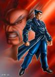 Heihachi vs Kazuya