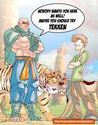 Shaggy vs Sagat