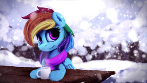A Cup of Cocoa by TheFloatingTree