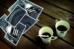 Converse Collage: Coffee Break