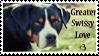 Greater Swissy Love - Stamp by Shenim
