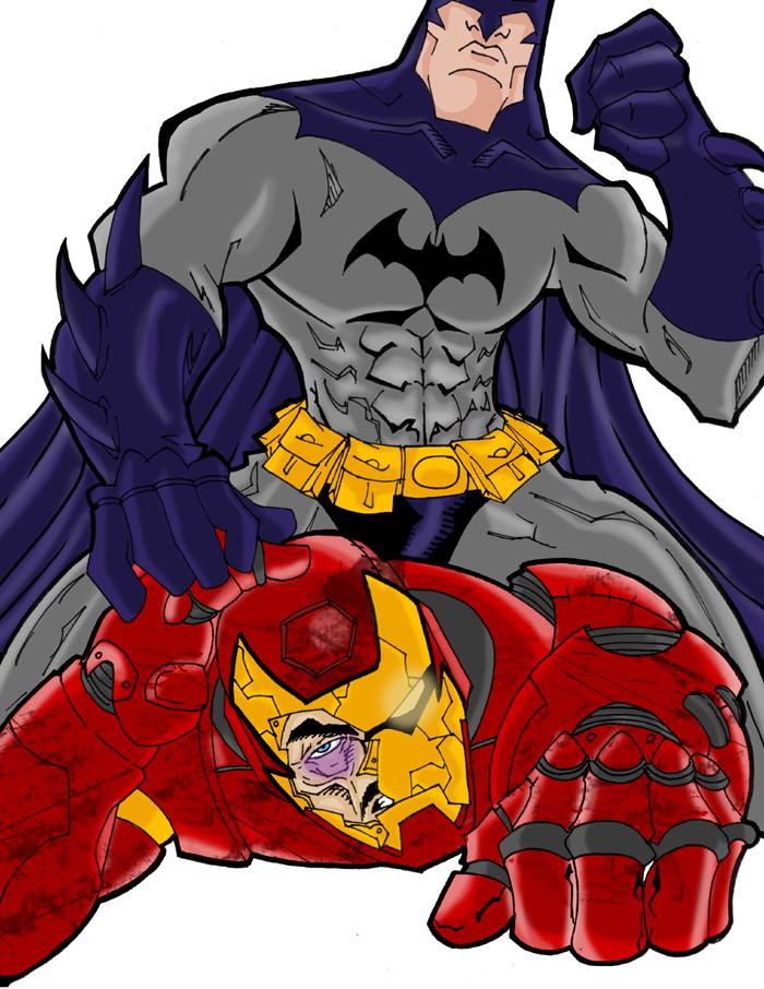 Batman vs Iron Man by misterzubairBatman Beyond Vs Ironman