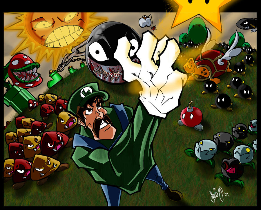There Will Be Brawl - RISK - Page 3 Luigi_vs_The_World___Finished_by_misterzubair