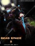 Dead Space 2 Wapeach Pin Up
