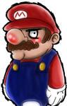 Pissed Off Mario