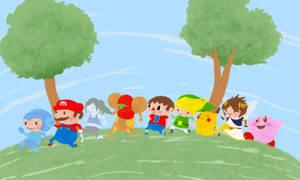 Super Smash Brothers Wii U