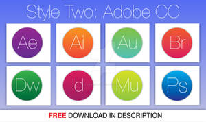 Adobe CC Icons Style 2