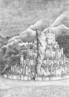 Minas Tirith by GoldenLionofRa
