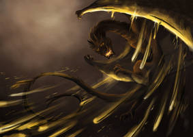 Smaug the Magnificent by GoldenLionofRa