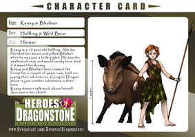 Character Card - Keavy and Bhaltair by GoldenLionofRa