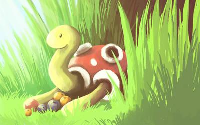 Draw Me A Pokemon: Shuckle