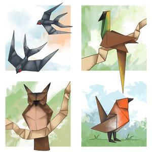 Origami Birds - Part 1