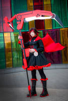 RWBY: Ruby  Rose_02 by slivovayaSva