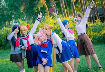 Sailor Moon by slivovayaSva