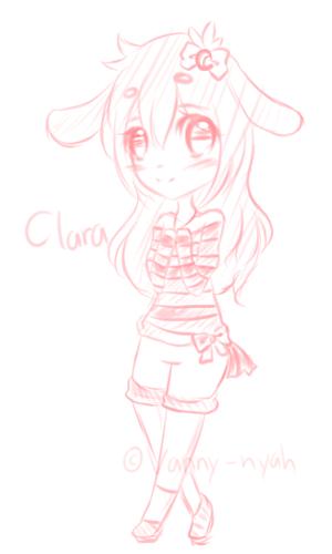 .:C:. Clara by Vanny-nyah