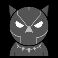 Black Panther Emoji (WIP)