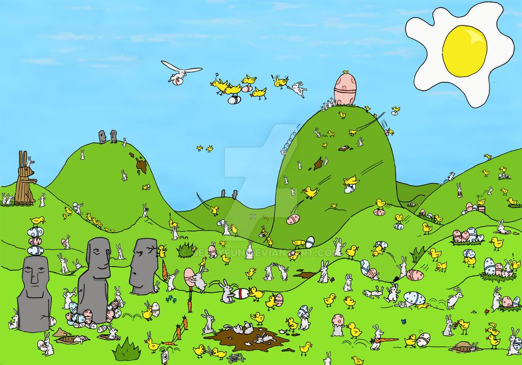 Easter Egg Hunt by Deekyfun