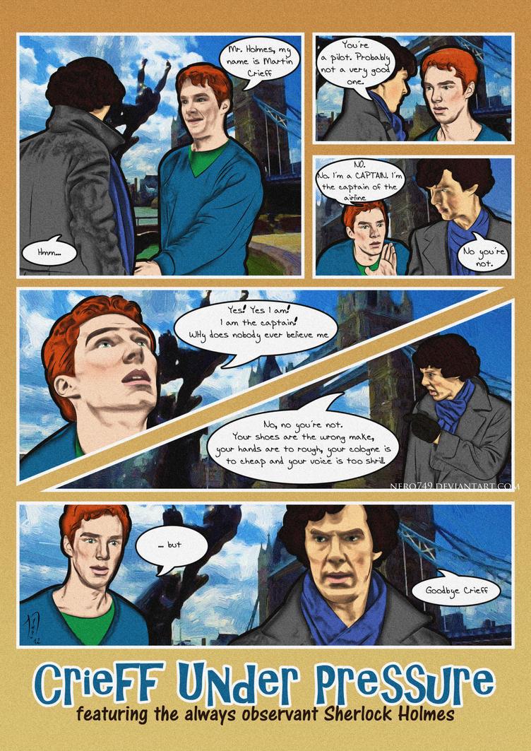 Mr Holmes, meet Martin Crieff by Nero749