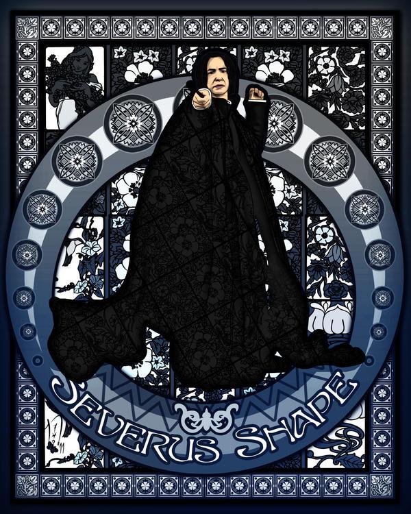 Severus Snape by Nero749