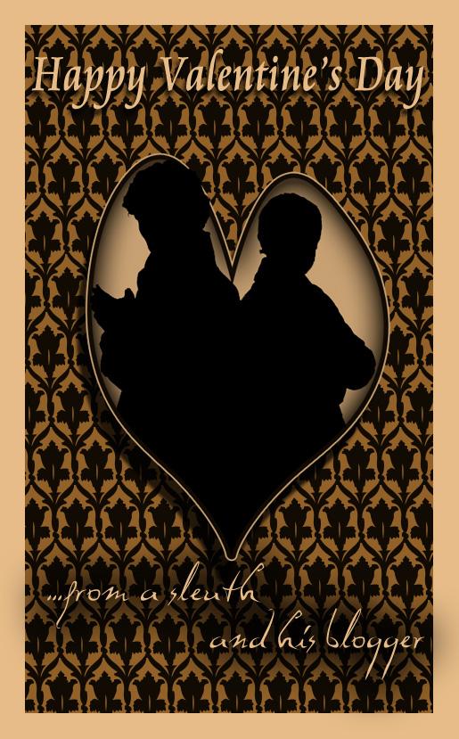 Happy John and Sherlock Valentine by Nero749
