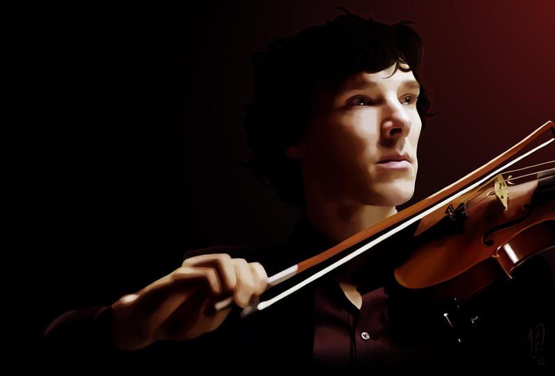 Violinist by Nero749
