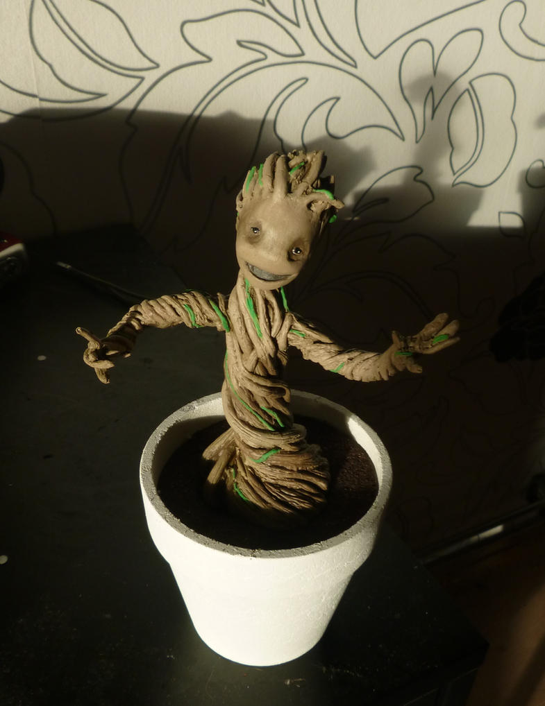 Baby Groot by Nero749