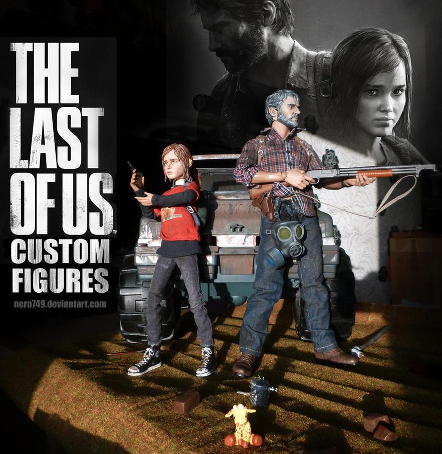 The Last of Us: Custom Figures by Nero749