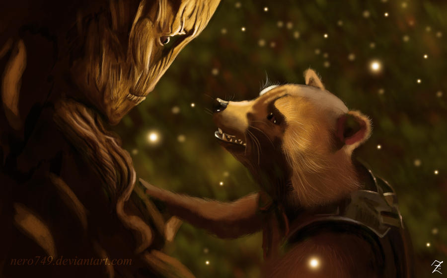We are Groot by Nero749