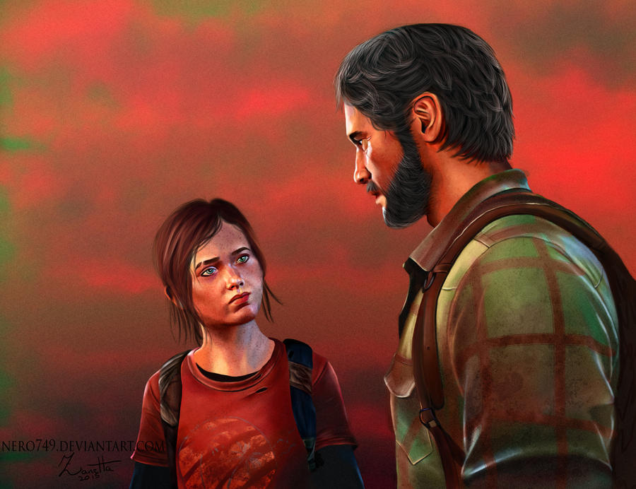 The Last of Us: Joel and Ellie by Nero749
