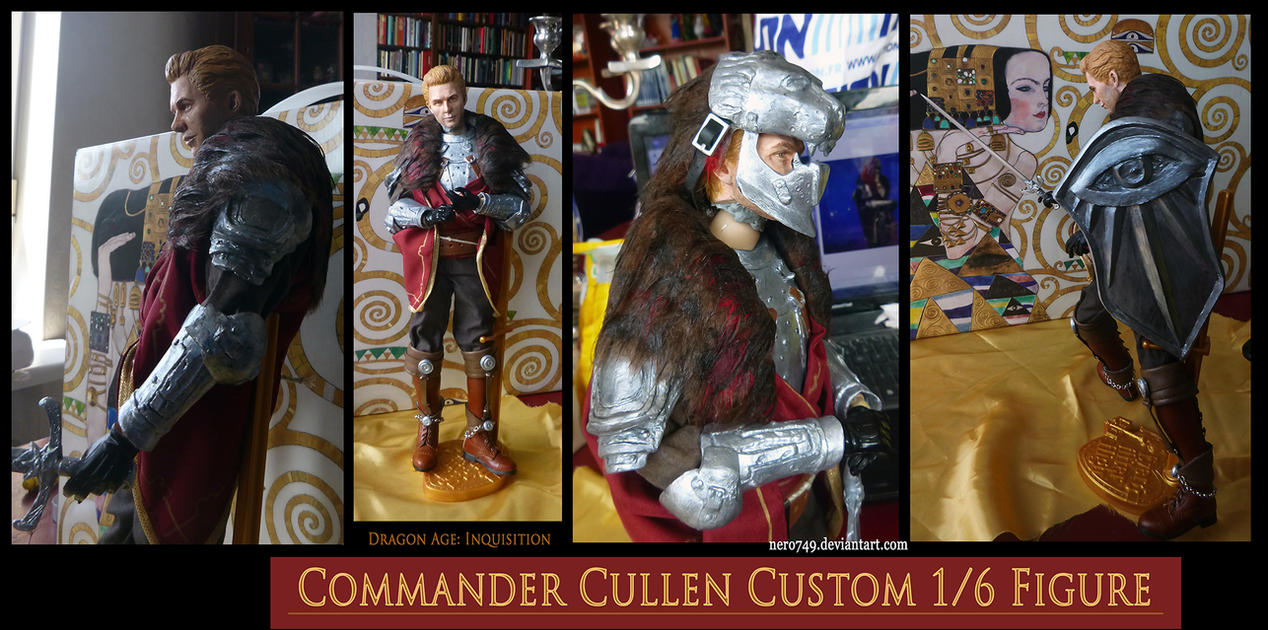 Dragon Age Inquisition: Cullen Custom Figure by Nero749