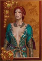 The Witcher 3: Triss by zanephiri