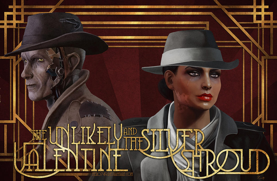 The Unlikely Valentine and The Silver Shroud by Nero749