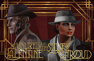 The Unlikely Valentine and The Silver Shroud by zanephiri