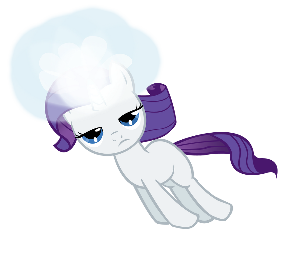 Filly Rarity finds her destiny by Ohhim