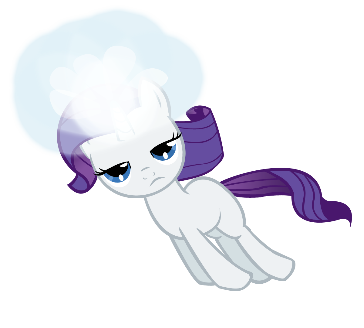 Filly Rarity finds her destiny
