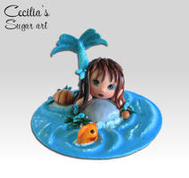 Sugar Dreaming Mermaid by Kabanero